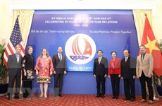 Estado Unidos reafirma disposición de intensificar asociación integral con Vietnam