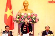 Concluyen reunión 40 del Comité Permanente de Asamblea Nacional de Vietnam