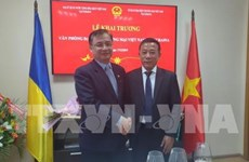Inauguran oficina de representación comercial de Vietnam en Ucrania