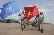 ONU destaca esfuerzos de Vietnam en misiones del mantenimiento de la paz mundial