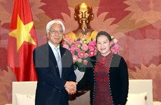 Presidenta de Asamblea Nacional de Vietnam aboga por mayores nexos con Japón