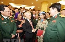 """Insta máximo dirigente de Vietnam al ejército a ser pionero en prevención de la """"autoevolución"""""""