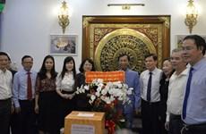 Afirma vicepresidenta vietnamita atención especial del Estado a los religiosos