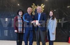 Diplomáticos en Corea del Sur felicitan al equipo sub23 de Vietnam