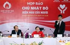 Realizan programa de donación de sangre en 40 ciudades y provincias de Vietnam