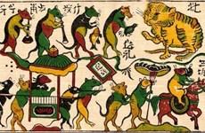 Preparan documentos para solicitar reconocimiento de UNESCO a pintura folclórica de Dong Ho