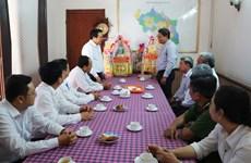 Felicitan a 40 mil católicos vietnamitas en provincia sureña de Long An en ocasión de Navidad