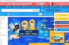 Crecen en Vietnam visitas a sitios del comercio electrónico
