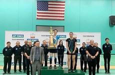 Badmintonista vietnamita gana campeonato abierto de Estados Unidos