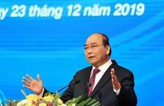 Premier vietnamita se compromete a seguir acompañando a la comunidad empresarial