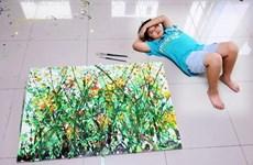 Pequeño artista vietnamita exhibirá sus obras en Nueva York