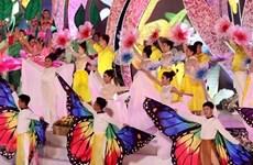Amenas actividades en Festival de Flores de Da Lat 2019