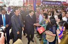 Inauguran en Camboya mercado ejemplar financiado por gobierno de Vietnam