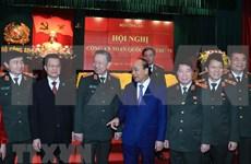 Instan a mantener liderazgo absoluto y directo del Partido Comunista a Policía Popular de Vietnam