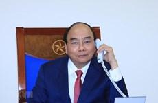 Primer ministro de Vietnam sostiene conversación telefónica con su homólogo ruso