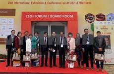 Promueven la cooperación entre Vietnam y la India en medicina tradicional