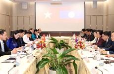 Parlamentos de Vietnam y Laos impulsan cooperación en trabajo étnico
