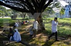 Rememoran a víctimas de doble desastre natural en Indonesia en 2014