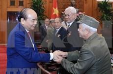 Agradece premier de Vietnam a excombatientes revolucionarios