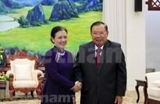 Destacan en Laos grandes contribuciones de veteranos y expertos vietnamitas