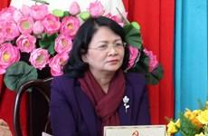 Recorre vicepresidenta vietnamita ciudad de Bao Loc