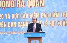 Lanza Vietnam Año Nacional de Seguridad de Tráfico 2020