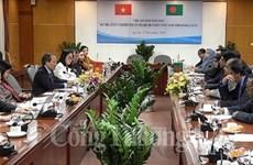 Debaten medidas para elevar intercambio comercial entre Vietnam y Bangladés