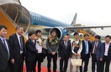 Vietnam registra incremento alentador de viajeros por vías aéreas