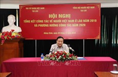 Intensifican los lazos entre la comunidad vietnamita en Laos