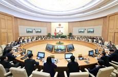 Centra gabinete de Vietnam última reunión del año en perfeccionamiento de marco legal
