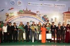 Ciudad Ho Chi Minh da la bienvenida a los primeros visitantes en 2020