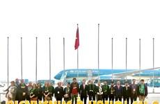Recibe Hanoi al primer turista extranjero del año