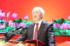 Reitera máximo dirigente de Vietnam compromiso de cumplir nuevos cargos en mecanismos multilaterales