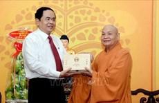 Elogian en Vietnam contribución de seguidores budistas a construcción nacional