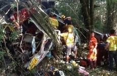 Al menos 19 personas murieron en accidente en frontera Myanmar- Tailandia