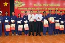 Frente de la Patria de Vietnam obsequia a trabajadores y personas menos favorecidas en ocasión del Tet