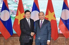 Resaltan éxito de reunión 42 del Comité Intergubernamental Vietnam- Laos