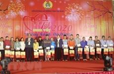 Fortalecen actividades en apoyo a trabajadores vietnamitas en vísperas del Año Nuevo Lunar 2020