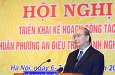 Exhorta primer ministro de Vietnam a mejorar calidad de información estadística