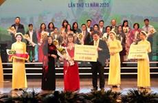 Donan cinco millones de dólares a actividades caritativas dedicados a niños en Vietnam