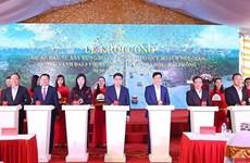 Arranca la construcción de intersección con la autopista Hanoi – Hai Phong