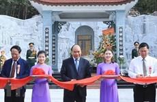 Premier de Vietnam inaugura obra dedicada a mártires en provincia de Quang Nam