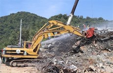 Vietnam expresa solidaridad con Camboya por derrumbe de edificio en provincia de Kep