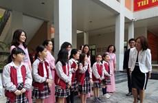 Promueven clases de idioma japonés en escuela vietnamita amistad binacional