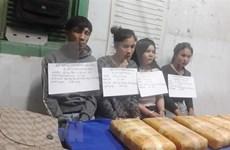 Desmantela policía de Vietnam red narcotraficante a través de frontera con Laos