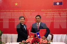 Intensifican cooperación entre fiscalías populares supremos de Vietnam y Laos