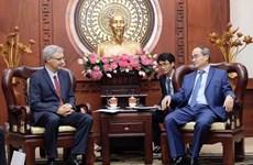 Robustecen Ciudad Ho Chi Minh y Francia sus lazos