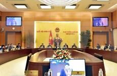 Emprenden reunión 41 del Comité Permanente del Parlamento vietnamita