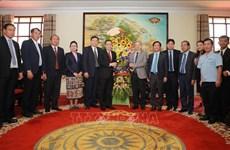 Fortalecen relaciones cooperativas entre provincias de Vietnam y Laos