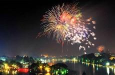 Hanoi lanzará fuegos artificiales para dar bienvenida a la nueva primavera